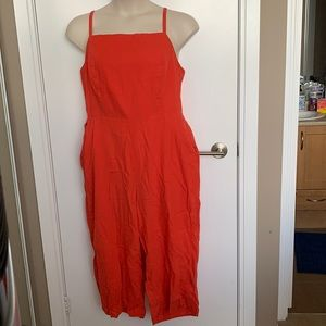 OLD NAVY | XL | Coral Cami Romper with Pockets